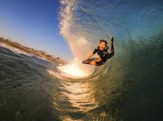 Sosh au Quiksilver Pro , photo of the day by Go Pro #sosh #ridesession