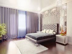 Interior Luxury Art Deco Bedroom Design Combined With Feminine Touch Artful Interior Design Furniture; Art Deco Bedroom, Bedroom Decor, Bedroom Colors, Bedroom Sets, Dream Bedroom, Master Bedroom, Estilo Hollywood Regency, Hollywood Glamour, Home Interior