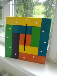 Pallet idea. Pallet wall clock
