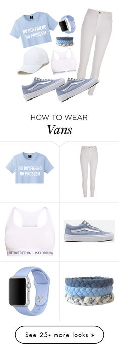 """I love that Vans"" by mirka-smalova on Polyvore featuring Vans, River Island, Sole Society and Apple"