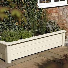 Bamburgh Herb Planter. If my trellis idea doesn't pan out, this will go in its place :)