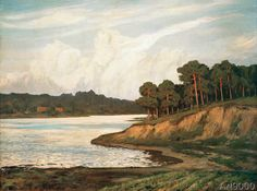 Walter Leistikow - Landscape in the Grunewald