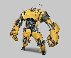 Lean Mean Yellow Machine by Docslav---GE.deviantart.com on @DeviantArt
