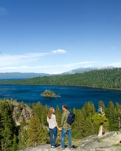 No man is an island.  👫 🏝️  #EdgewoodTahoe