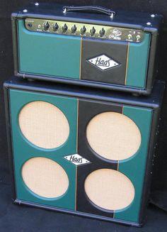 Olde School AB763 - Custom Tube Amp see more at haasamps.com #amps #guitar #tubeamps #customamps