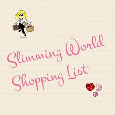 The ultimate, printable generic slimming world shopping list — Slimming World Survival | Recipes | Tips | Syns | Extra Easy