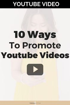 Where do you get started when it comes to promoting your Youtube video? Where should you be sharing your videos and how can you get more views on your video through promotion? In this video I\'m sharing my top 10 ways you can promote your Youtube video for free! #youtubetips #youtube #youtubevloggers #youtubevideo #bloggingtips #vlogger #VideoMarketing #videocontent