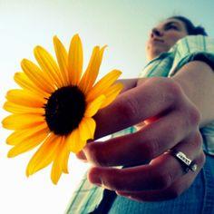 Flower. Wedding Ring. Sister.