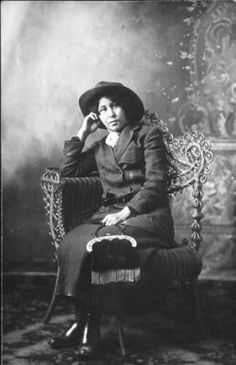 Colville woman named Louise Pichette Somday, Curlew Washington,1915 :: American Indians of the Pacific Northwest -- Image Portion