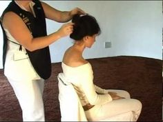Indian Head Massage - How to Give an Indian Head Massage - YouTube