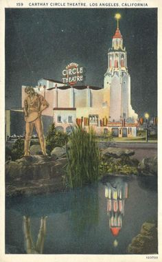 Carthay Circle theater in Los Angeles