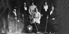 Croquet in the 1900 Olympics!!  Too cool!