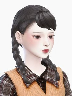 Sims Love, Sims 4 Mm, Sims Cheats, Sims 4 Anime, The Sims 4 Packs, Sims 4 Gameplay, Sims 4 Characters, Sims Hair, Sims 4 Build