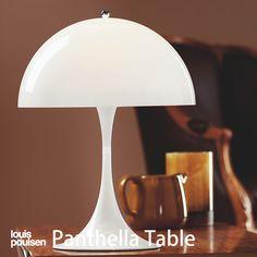 Panthella Retro- Mid Century Danish Modern Style White Lucite ...