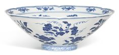bowl | sotheby's A FINE AND RARE BLUE AND WHITE LOBED 'FRUIT AND FLOWER' BOWL MARK AND PERIOD OF XUANDE Estimate 4,800,000 — 5,800,000 HKD