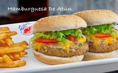 Hamburguesa de Atún  #food #comida #alimentos #fishers #gourmet #mexico #delicias #burger #fastfood
