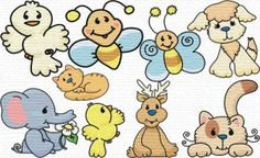 Free Embroidery Designs: Little Friends - I Sew Free