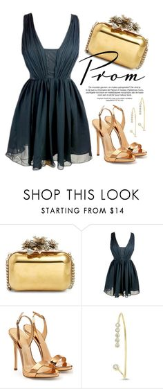 """Prom Do-Over"" by monmondefou ❤ liked on Polyvore featuring Jimmy Choo, Giuseppe Zanotti and promdoover"