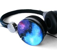 Galaxy headphones celestial gift for her cool birthday gift for him custom Nebula Space Urbanears girlfriend headset dj iphone earphones Space Galaxy Nebula Custom headphones earphones hand by ketchupize, – Das schönste Make-up Cute Headphones, Over Ear Headphones, Wireless Headphones, Headset, Accesorios Casual, Best Birthday Gifts, Phone Accessories, Gifts For Her, Creations