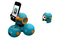 Bo with Smartphone mount. Learn to code with Bo & Yana Jayson would love!