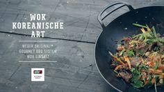 Weber Stephen Grill – Koreanisch kochen mit dem Weber Original Wok Einsatz Weber Grill, Barbecue, Grilling, Gourmet, Wok Recipes, Delicious Dishes, Korean, Beef, Easy Meals