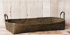 Long Basket - Bamboo
