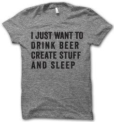 Drink Beer – Thug Life Shirts