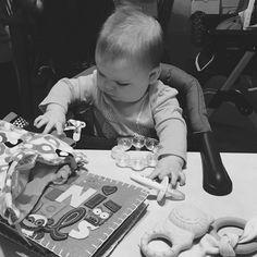 Always serious #babymoves