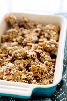 The Super Foodie: Cranberry Almond Granola Bites