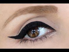 Cat Eye Eyeliner Nasıl Sürülür Günlük Eyeliner'ım - YouTube