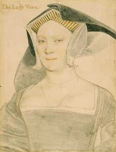 Elizabeth, Lady Vaux (1509-1556) Elizabeth, Lady Vaux,  was  daughter of Sir Thomas Cheney of Irtlingburgh and Anne Parr (who was the daughter of Sir William Parr and Lady Elizabeth Fitzhugh.