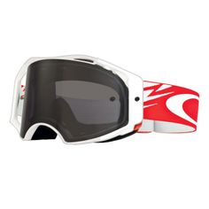 7a5aa1e37 Oakley Airbrake MX Off-Road Goggles - Troy Lee Design - Thunderbolt Red /  White