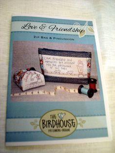Sacs, LOVE AND FRIENDSHIP/The Bird House est une création orginale de Atelierdelasouris sur DaWanda