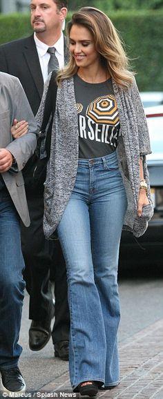 Mode Boho Mode De Lautomne Le Style De Jessica Alba La
