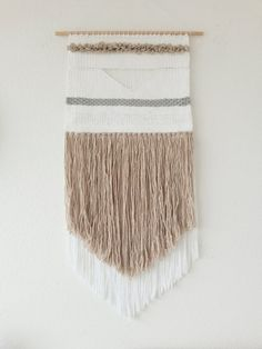 Handwoven Wall Hanging Woven Tapestry Woven by undertheoaktreeshop, $100.00