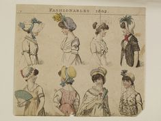 Museum of London | Fashionable Head dress 1802