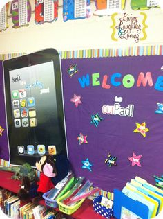 How to make your own Giant iPad Bulletin Board!