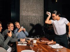 Pete Wells submits to the meme, and the copious meat, at a Turkish steakhouse where the chef is world-famous for his salt-flicking technique. Overseas Travel, Personal Chef, Food Reviews, World Famous, Restaurant Recipes, Ny Times, Safe Food, Relationship Goals, Food Photography