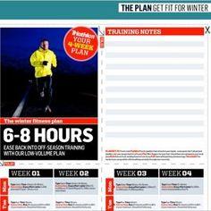 Winter Triathlon Training Plans
