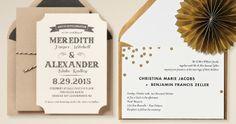Printable Wedding Invitations - Paper Source