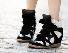 Sneakers by Isabel Marant!