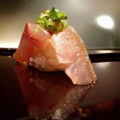Aji (horse mackerel) from kagoshima Japan @ NAKAJIMA at Jado sushi.