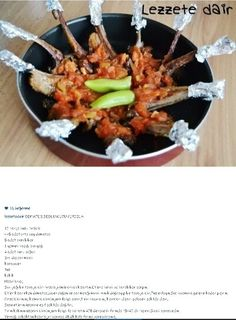 Alintidir domates soslu tavuk pirzola  kasar rende de olabilir.(fotograf kuzu pirzola)
