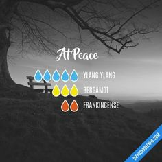 At Peace - Essential Oil Diffuser Blend #essentialoil