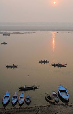 Varanasi, India. I will pin this here, because it looks rather peaceful and serene  :)
