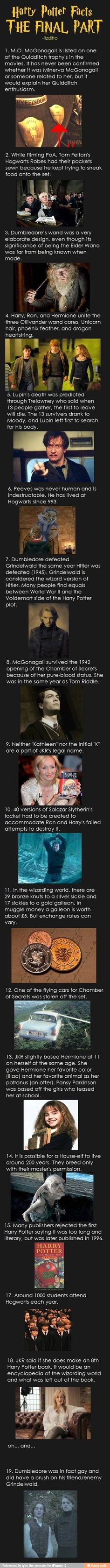 Harry Potter fun facts!