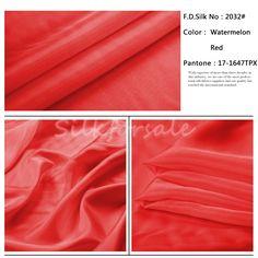 http://www.silkfabricwholesale.com/8mm-silk-habotai-fabric-watermelon-red.html     F.D. silk most professional 8mm silk habotai fabric-watermelon red supplier.