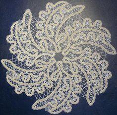 Advanced Embroidery Designs - FSL Battenberg Whirlpool Doily