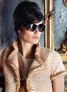 Working the bouffant - must try #houseofstye   Bottega Veneta F/W 2012 Ad Campaign