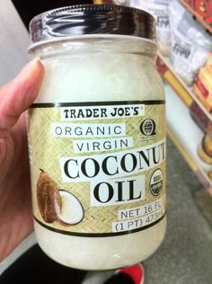 Turns out coconut oil is a great-all-in-one. It is an anti-inflammatory, anti-microbial, anti-fungal, and anti-viral. It improves nutrient absorption. It can be used for cooking. It is a lip balm, moisturizer, shaving cream, deep treatment conditioner, makeup remover, body scrub (mixed with sugar makes a great exfoliant), bug bite balm, Athlete's Foot treatment, and canker sore treatment. It has also been proven to boost metabolism and aid in digest. - The Beauty Thesis